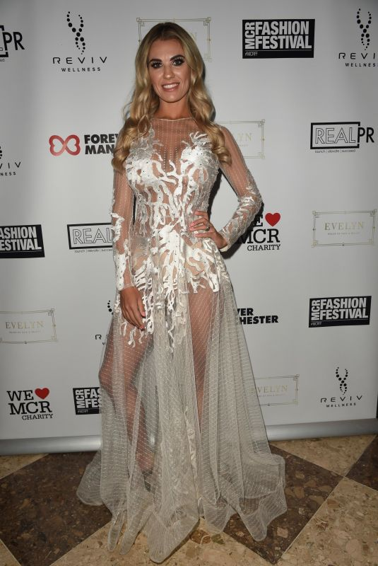 CHRISTINE MCGUINNESS at Manchester Fashion Festival at Midland Hotel 10/13/2018