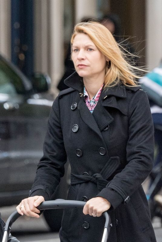 CLAIRE DANES Out in New York 10/29/2018