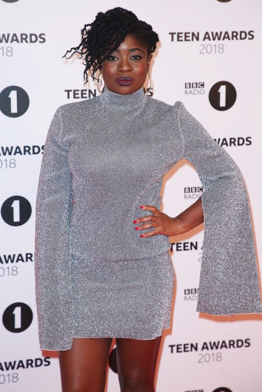 CLARA AMFO at BBC Radio 1 Teen Awards in London 10/21/2018
