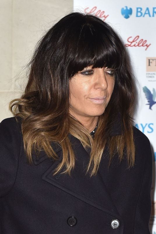 CLAUDIA WINKLEMAN at Women of the Year Awards 2018 in London 10/15/2018