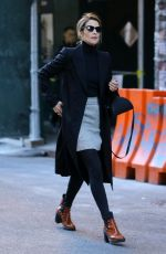 COBIE SMULDERS Leaves Bowery Hotel in New York 10/24/2018