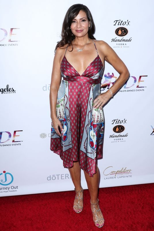 CONSTANCE MARIE at 2nd Annual Dance for Freedom in Santa Monica 09/29/2018