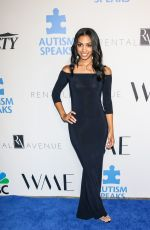 CORINNE FOXX at Into the Blue Gala in Los Angeles 10/04/2018