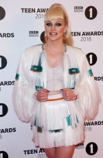 COURTNEY ACT at BBC Radio 1 Teen Awards in London 10/21/2018