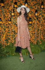 COURTNEY EATON at 2018 Veuve Clicquot Polo Classic in Los Angeles 10/06/2018