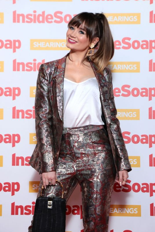 DAISY WOOD-DAVIS at Inside Soap Awards 2018 in London 10/22/2018
