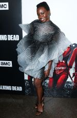 DANAI GURIRA at The Walking Dead Premiere Party in Los Angeles 09/27/2018