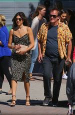 DANIELLA PICK and Quentin Tarantino Out in Los Angeles 10/15/2018