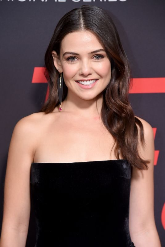 DANIELLE CAMPBELL at Tell Me a Story Premeire in New York 10/23/208