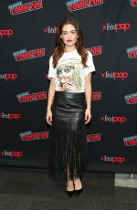 DANIELLE CAMPBELL at Tell Me A Story Premiere at New York Comic-con 10/05/2018