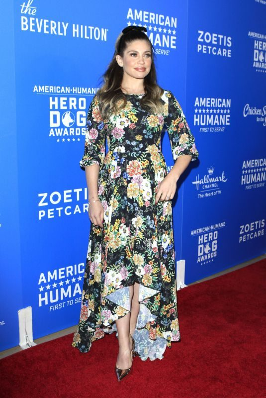 DANIELLE FISHEL at American Humane Dog Awards in Los Angeles 09/29/2018