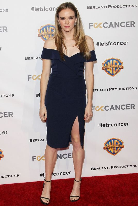 DANIELLE PANABAKER at Barbara Berlanti, F–k Cancer Benefit in Los Angeles 10/13/2018