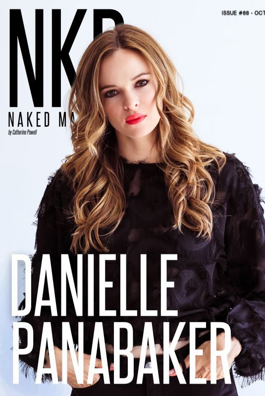 DANIELLE PANABAKER for NKD Magazine, October 2018 Issue