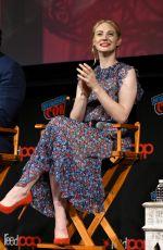 DEBORAH ANN WOLL at Daredevil Panel at New York Comic-con 10/06/2018