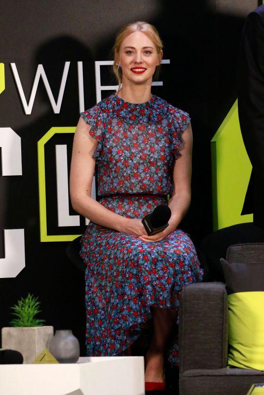 DEBORAH ANN WOLL at Daredevil Season 3 Panel at New York Comic-con 10/06/2018