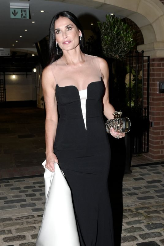 DEMI MOORE at Evening Reception of Royal Wedding in London 10/12/2018