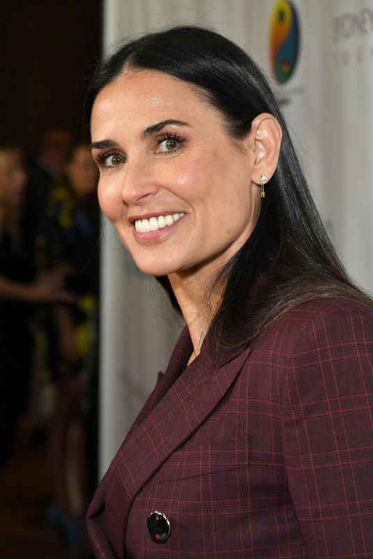 DEMI MOORE at Friendly House Lunch in Los Angeles 10/27/2018