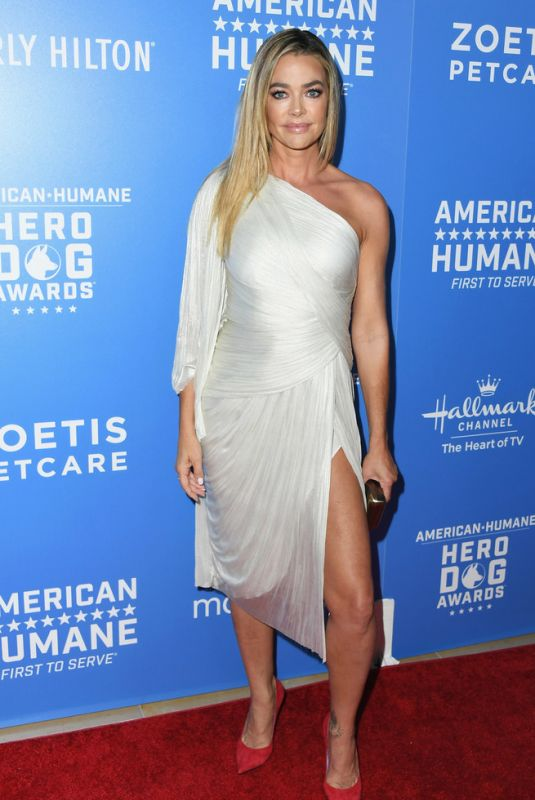 DENISE RICHARDS at American Humane Dog Awards in Los Angeles 09/29/2018