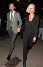 DENISE VAN OUTEN Arrives at Maddox Gallery in London 10/22/2018