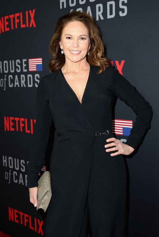 DIANE LANE at House of Cards Season 6 Premiere in Los Angeles 10/22/2018