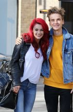 DIANNE BUSWELL Leaves ITV Sudios in London 10/18/2018