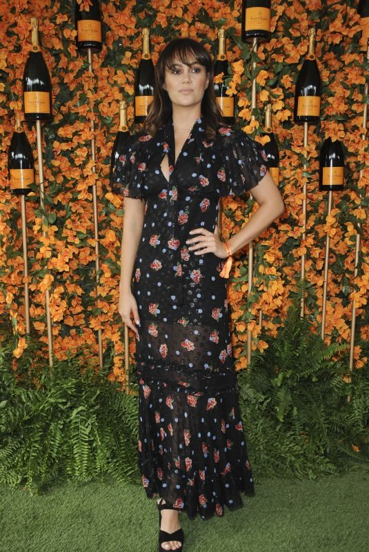 DINA SHIHABI at 2018 Veuve Clicquot Polo Classic in Los Angeles 10/06/2018