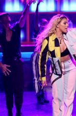 DINAH JANE at Tonight Show Starring Jimmy Fallon in New York 10/08/2018