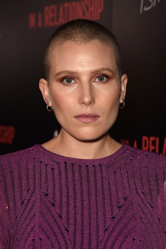 DREE HEMINGWAY at In A Relationship Premiere in West Hollywood 10/30/2018