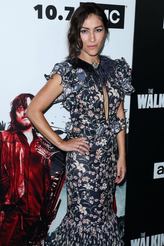 ELEANOR MATSUURA at The Walking Dead Premiere Party in Los Angeles 09/27/2018