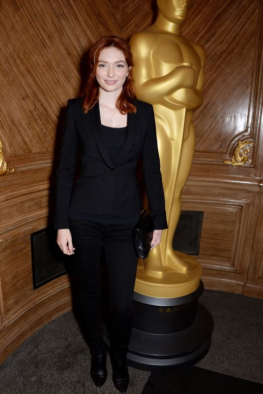 ELEANOR TOMLINSON at AMPAS Women's Initiative Lunch in London 10/15/208