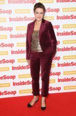 ELISABETH DERMOT WALSH at Inside Soap Awards 2018 in London 10/22/2018