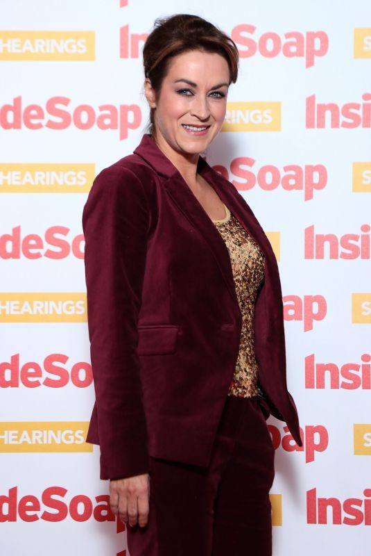 ELISABETH DERMOT WALSH at Inside Soap Awards 2018 in London 10/22/2018