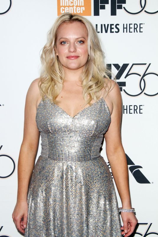 ELISABETH MOSS at Her Smell Premiere at New York Film Festival 09/29/2018