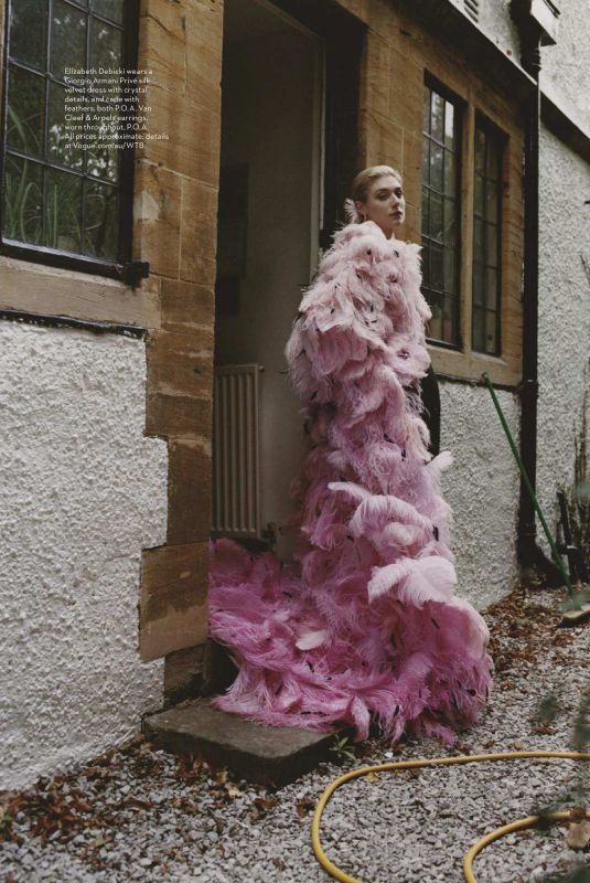 ELIZABETH DEBICKI in Vogue Magazine, Australia November 2018