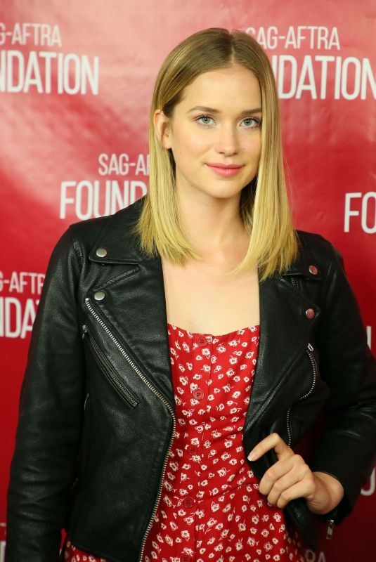 ELIZABETH LAIL at Sag-aftra Foundation Conversations Screening of You in Los Angeles 10/11/2018