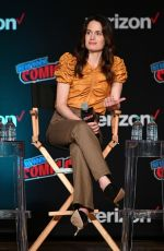 ELIZABETH REASER at Netflix & Chills Panel at New York Comic-con 10/05/2018