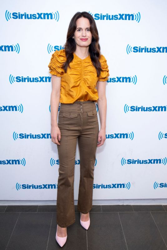 ELIZABETH REASER at SiriusXM Studios in New York 10/05/2018