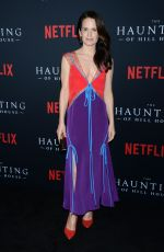 ELIZABETH REASER at The Haunting of Hill House Premiere in Los Angeles 10/08/2018