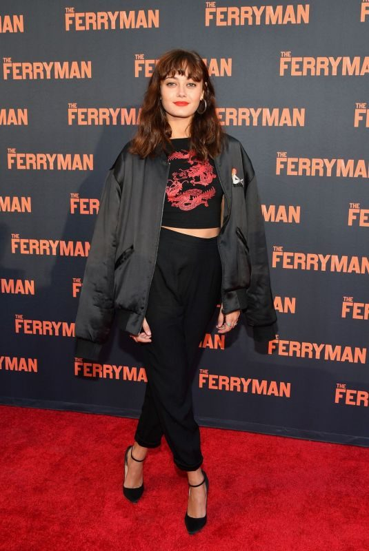 ELLA PURNELL at The Ferryman Broadway Opening Night in New York 10/21/2018