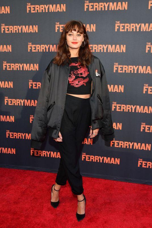ELLA PURNELL at The Ferryman Broadway Opening Night in New York 10/21/2018