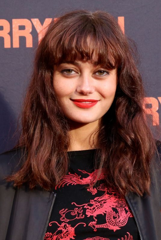ELLA PURNELL at The Ferryman Opening Night at Jacobs Theatre in New York 10/21/2018