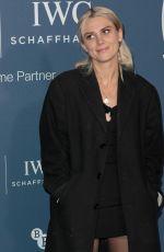 ELLIE ROSWELL at IWC Schaffhausen Gala Dinner in London 10/09//2018