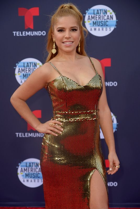 ELVA SARAY at Latin American Music Awards 2018 in Los Angeles 10/25/2018