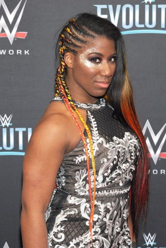 EMBER MOON at WWE's First Ever All-women's Event Evolution in Uniondale 10/28/2018