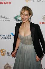 EMILIA CLARKE at Britannia Awards 2018 in Beverly HIlls 10/26/2018