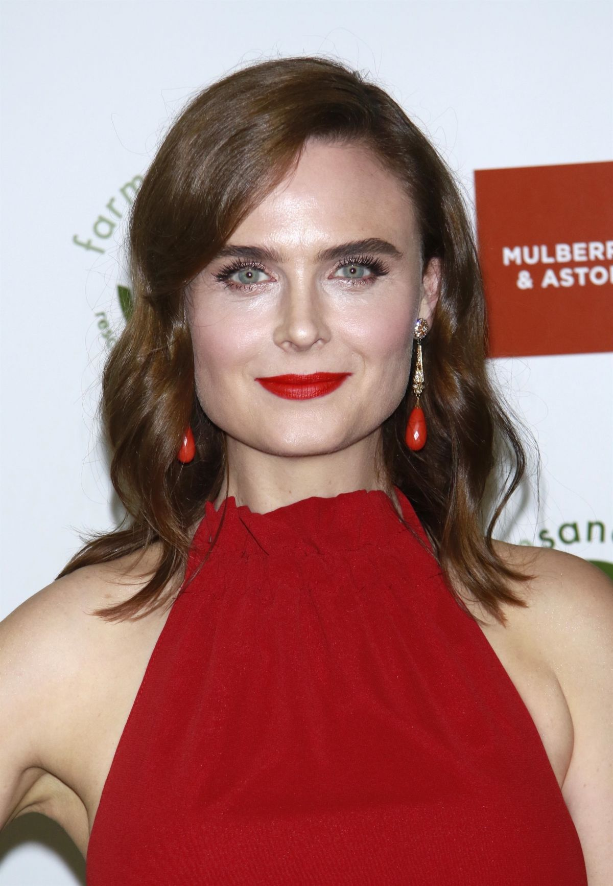 EMILY DESCHANEL at Farm Sanctuary on the Hudson Gala in