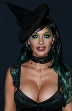 EMILY SEARS at Karma International Kandy Halloween Party in Los Angeles 10/21/2018