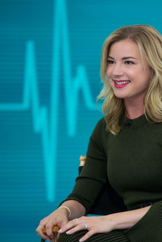 EMILY VANCAMP at Today Show in New York 10/23/2018