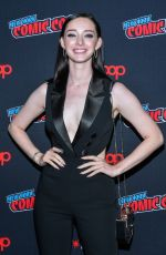 EMMA DUMONT at The Gifted Photocall at New York Comic-con 10/07/2018