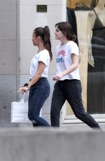 EMMA WTASON Shopping at La Perla in Boston 10/07/2018